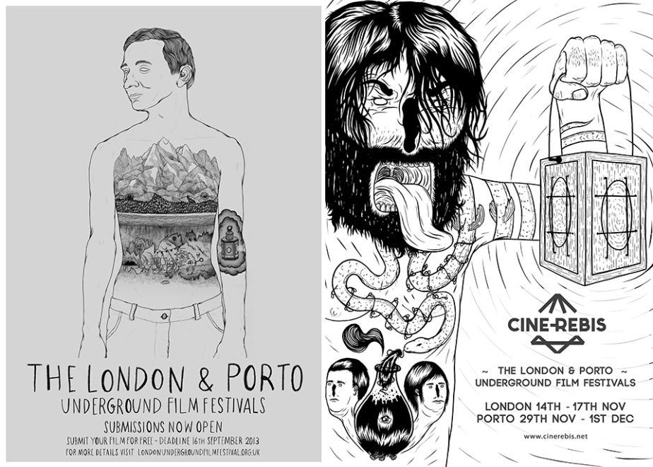 Cine-Rebis - London & Porto Underground Film Festivals
