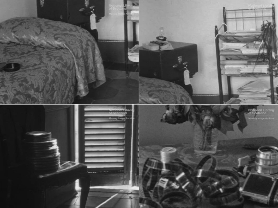 Margaret Tait, My Room Via Ancona 21